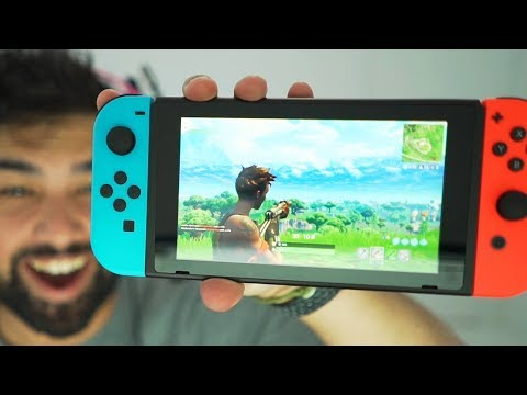 Fortnite Nintendo Switch Gameplay..