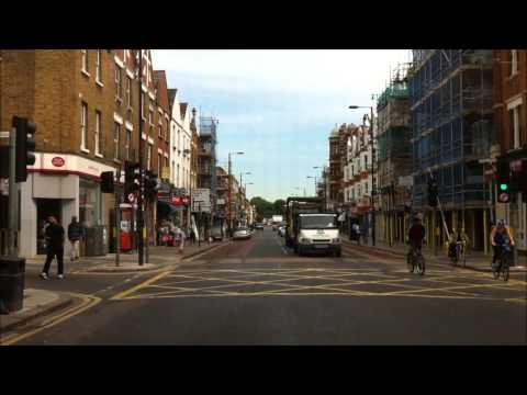 London streets (375.) - Highbury (N5) - Edmonton (N18)