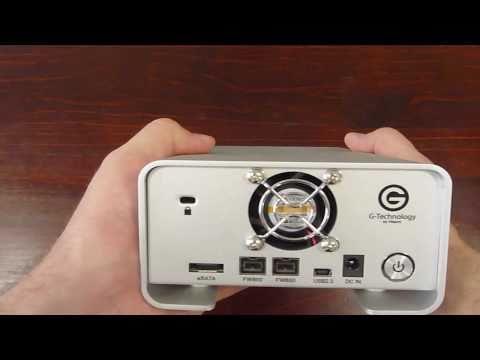 G Technology G-Raid 2TB External Hard Drive Review