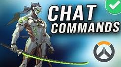 Top 10 Best Overwatch Chat Commands!