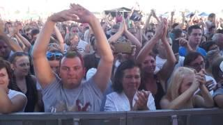 Tłumy przybyły na koncert zespołu Akcent w Radawcu