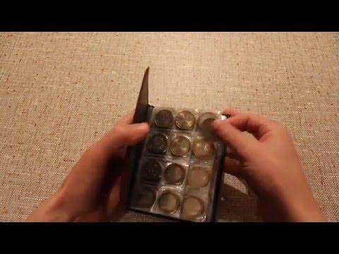Как сделать книгу для монет