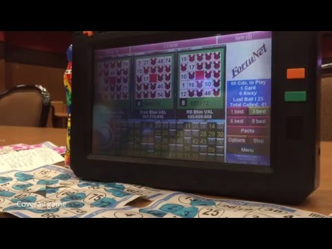 Bingo Game in Las Vegas - LIVE GAMEPLAY & COVERALL