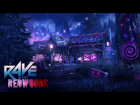"""DÉCOUVERTE NEW DLC ZOMBIES """"RAVE IN THE REDWOOD"""""""