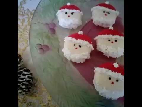 Antipasti A Forma Di Babbo Natale.Babybel Babbo Natale Youtube