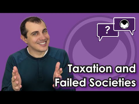 Bitcoin Q&A: Taxation and Failed Societies