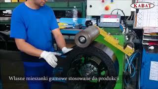 Proces produkcji opon pełnych Kabat Tyre