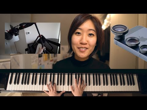 Guide To Filming Piano Keys From Overhead | Practice Notes 56