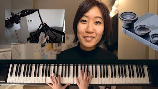 Guide To Filming Piano Keys From Overhead