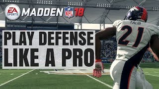 Video How To Play Defense Like A Pro In Madden 18 download MP3, 3GP, MP4, WEBM, AVI, FLV Januari 2018