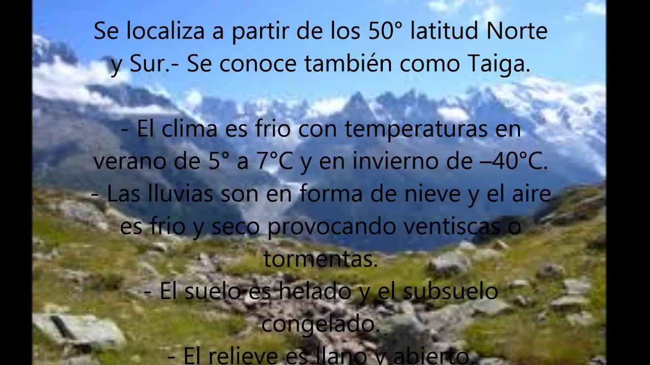 ecosistema la tundra - YouTube
