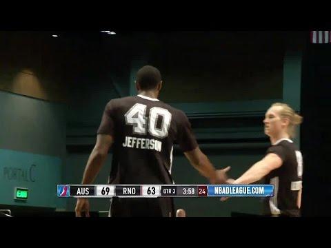 Cory Jefferson posts 17 points & 10 rebounds vs. the Bighorns, 12/21/2016