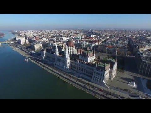 DJI Phantom 3 - Duna, Budapest - 4K