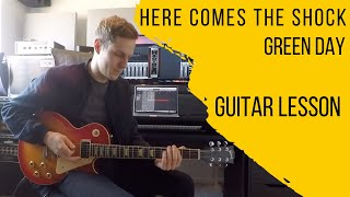 Green Day | Here Comes The Shock | GUITAR LESSON