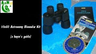 10x50 Astronomy Binocular Kit