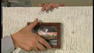 видео Как повесить картину без гвоздей