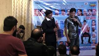 Johny Lever Raju Srivastav Udit Narayan on Music Launch of Wig Boss