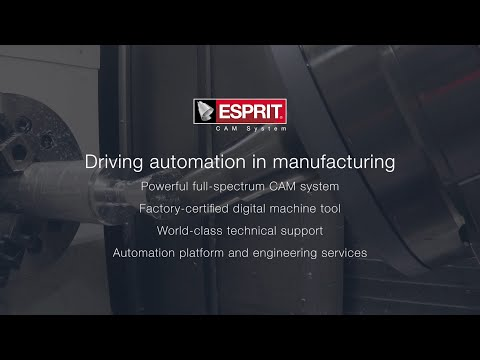 ESPRIT CAD/CAM SOFTWARE - North South Machinery