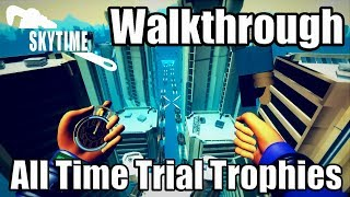 SKYTIME Gameplay - Full Walkthrough (Speedrun) | All Time Trial Trophies [PS4 PRO]