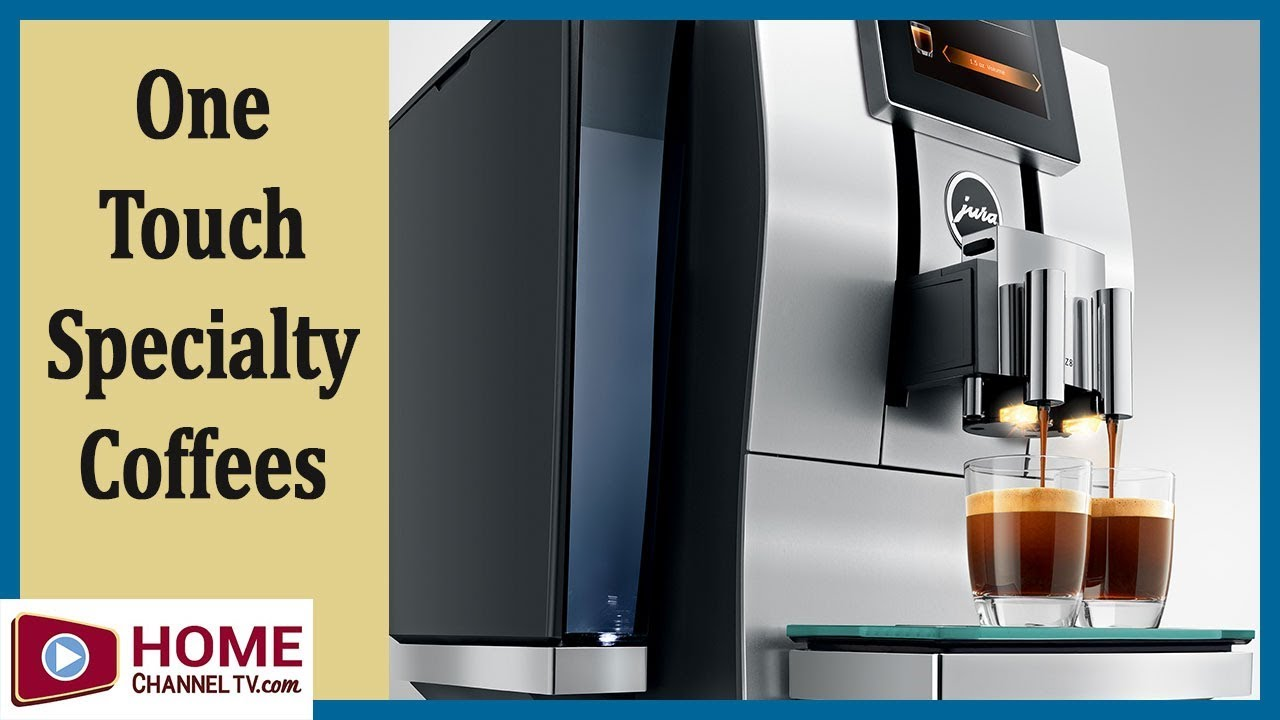 Make a Superb Cafe Latte, Americano, Esspresso & More with these Coffee Machines (Jura Z8 & Giga 6)