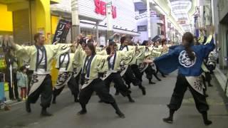 福井大学よっしゃこい2013年度演舞「夢光咲」 むこうへ 龍馬よさこ...