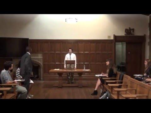Rwandan Debaters at the University of Pittsburgh