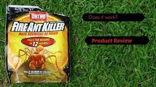 Ortho Fire Ant Killer - Product Review & Demo