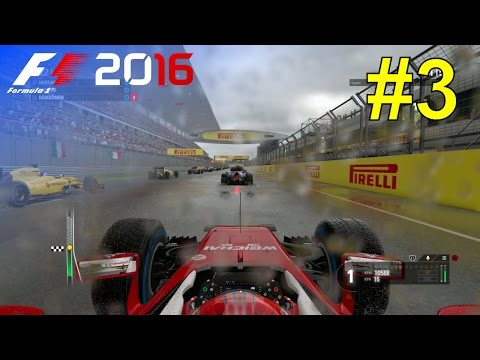 F1 2016 - Let's Make Kimi World Champion Again #3 - 100% Race 'China'