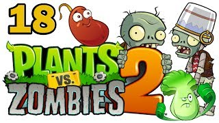ч.18 Plants vs. Zombies 2 - Dead Man's Booty - Level 5