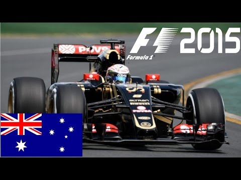 F1 2015 CO-OP Career Mode - Part 1 Australia