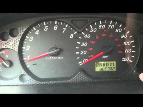 Тестовый режим, или режим самодиагностики в Mazda Tribute Ford Maverick Ford Escape