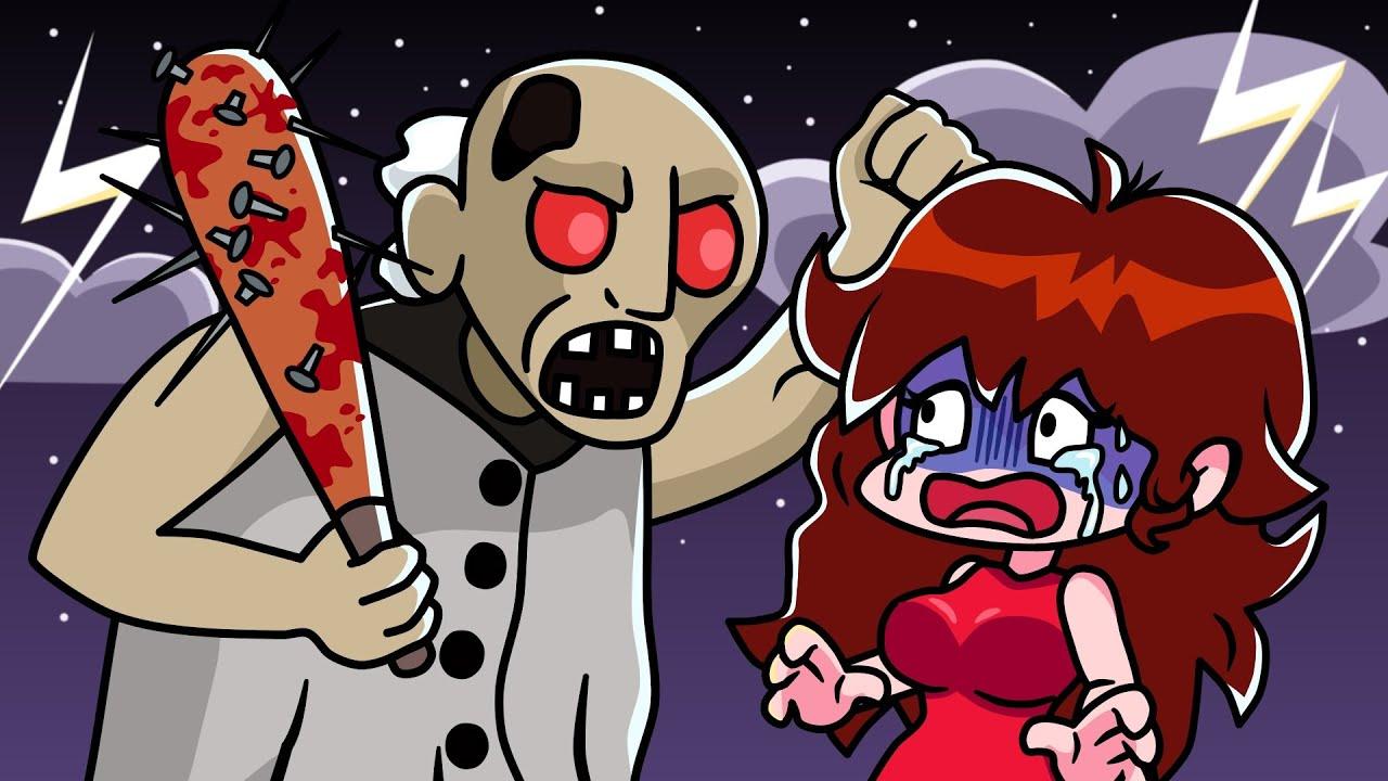 Friday Night Funkin vs Granny - Cartoon Animation
