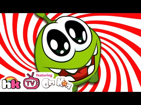 Om Nom Stories: The Candy Song | Cartoons for Children | Funny Cartoons | HooplaKidz TV
