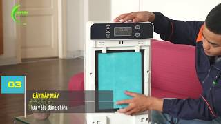 MÁY LỌC KHÔNG KHÍ - Hướng dẫn vệ sinh máy khử mùi thuốc lá và lọc không khí VTL03
