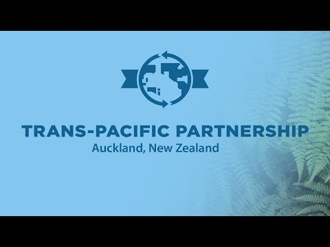 Trans-Pacific Partnership Signing Ceremony