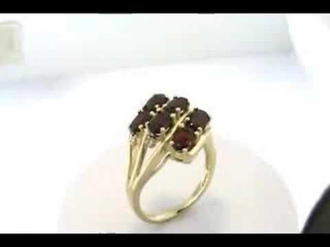 Tech Garnet Ring
