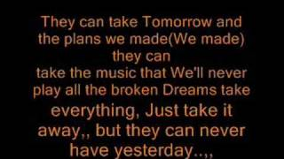 Leona lewis- Yesterday Lyrics(L)