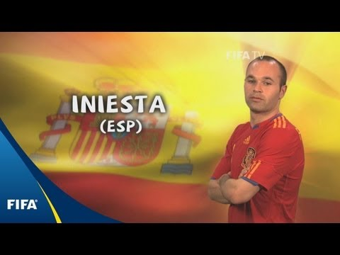 Andres Iniesta - 2010 FIFA World Cup