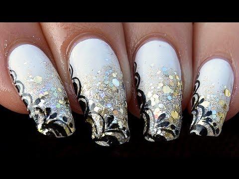 Nail Art De Soiree Rock Chic Youtube