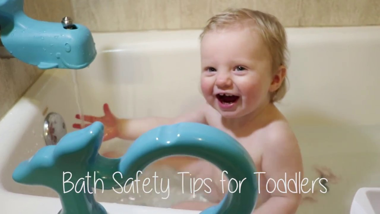 3 Bath Safety Tips for Toddlers - YouTube