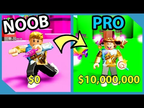 Noob To Pro! Rainbow Dominus Hat! 1,000,000 Dollar Candy! - Roblox Candy Simulator
