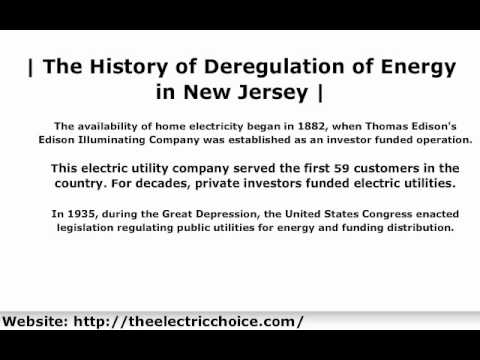 the features of electrical utility deregulation and its importance As a result of this deregulation, energy companies as states regulated and deregulated their electrical energy the date of retrieval is often important.