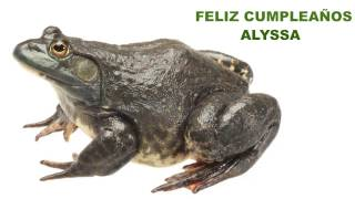Alyssa  Animals & Animales - Happy Birthday