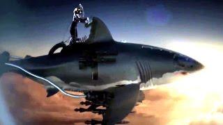 Sky Sharks TRAILER (2017) Zombie Nazis Flying Sharks Movie HD
