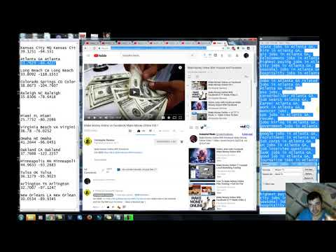 How To Make Money Online Free Youtube Local Marketing $177 Made Make Money Online Vid 1