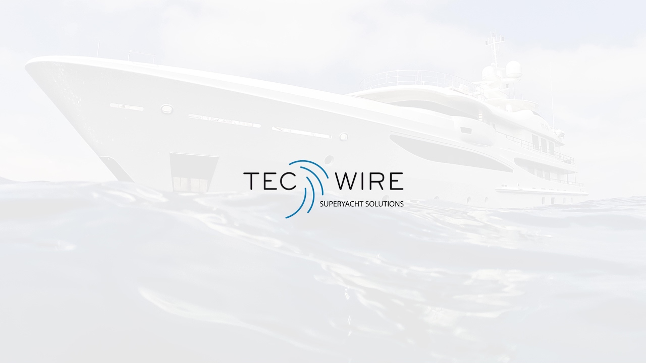 Tec Wire Superyacht Solutions | Corporate movie - YouTube