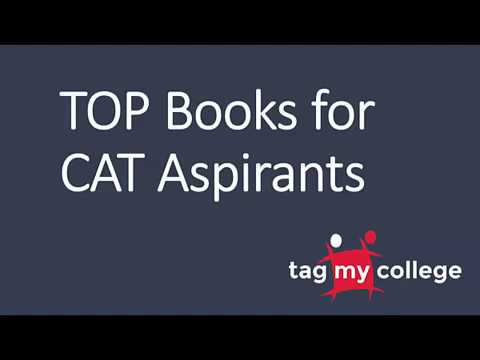 Top Books for CAT Aspirants | Tagmycollege