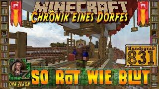 Minecraft #831-Chronik eines Dorfes-So rot wie Blut [HD+Deutsch]