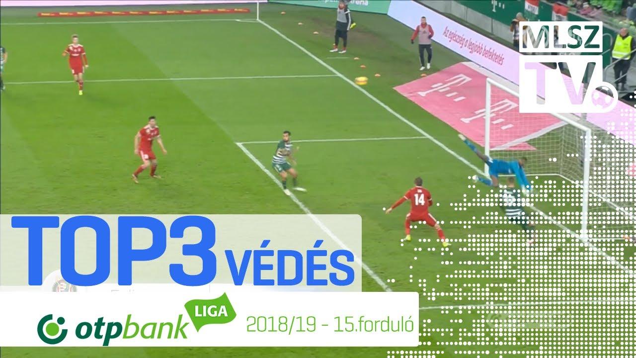 TOP 3 VÉDÉS – 15. forduló | OTP Bank Liga | 2018/2019