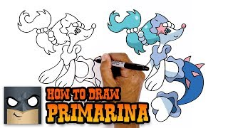 How to Draw Primarina | Pokemon (Art Tutorial)